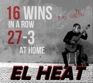16 wins in a row!