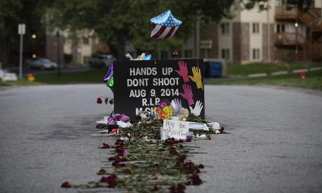 Mike Brown Shooting Site