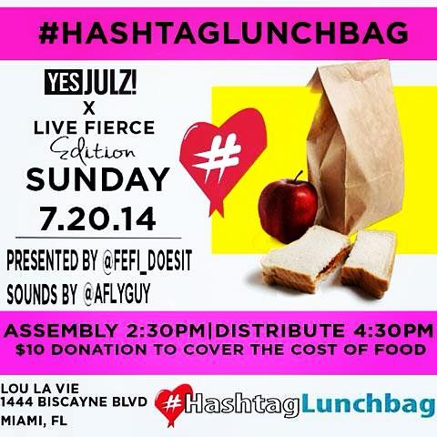 #HashtagLunchbag Day 1 7/20