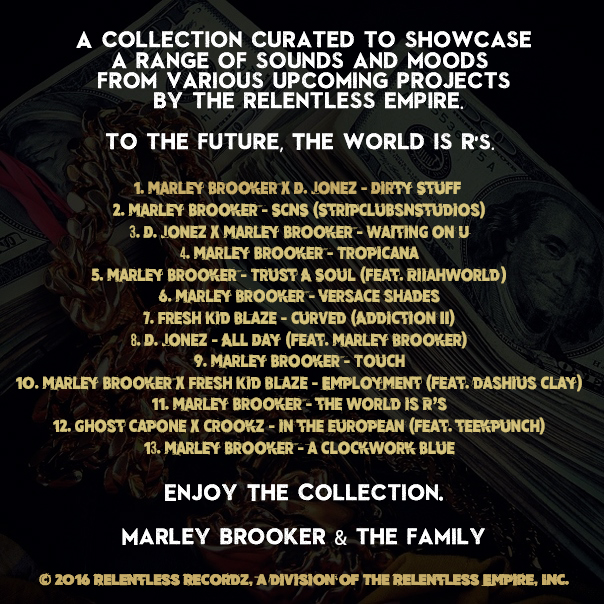 00 Marley Brooker & The Family - Cash N Jewels - The Collection (Tracklist) [Retail Version]